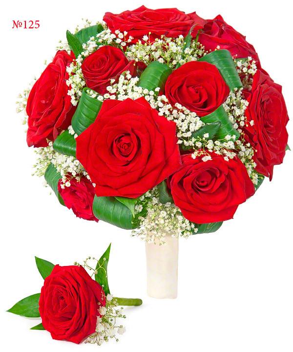 """Букет з червоних троянд """"Анабель"""""""