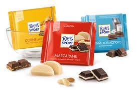 Шоколад Ritter sport - Новогодним набором 3шт. Германия