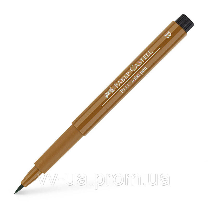 Ручка Faber-Castell PITT, B, умбра натуральная 167480 (14912)