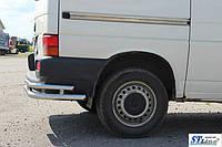 Задняя защита углы  для Volkswagen T5 (09-16) VWT5.09.B1-48.6