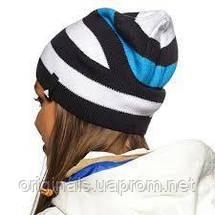 Фирменная шапка Adidas Striped Beanie M66611, фото 3