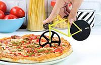 Нож для пиццы велосипед (желтый)