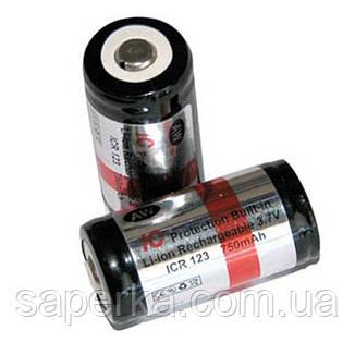 Аккумулятор 16340 (CR123) 750mAh AW, фото 2