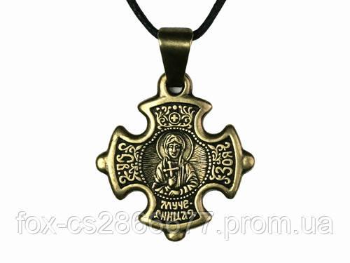 Нательный крест Зоя