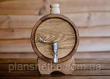 Дубовая бочка жбан для алкоголя 10 литров, фото 3