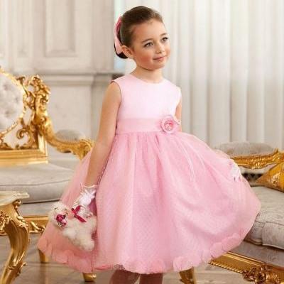 Детские нарядные платья и фатиновые юбки