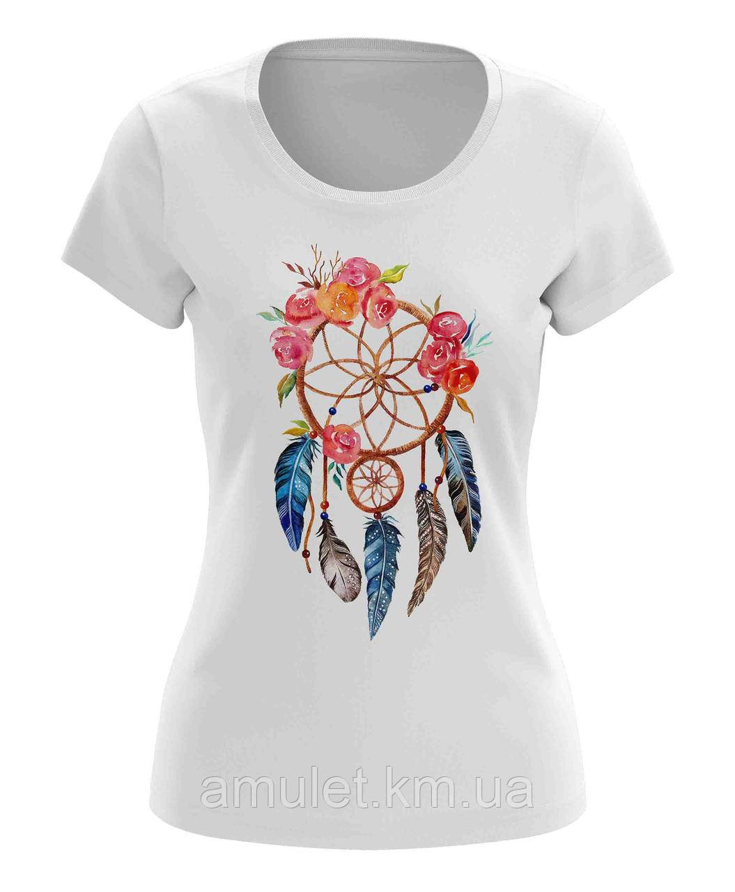 """Модная женская футболка """"Ловец снов"""""""