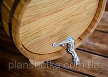 Дубова бочка жбан для 15 літрів алкоголю, фото 3