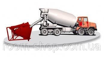 """Бадья """"Туфелька"""" (лапоть, бункер, емкость) для бетона объем 1.5 куб.м., фото 3"""