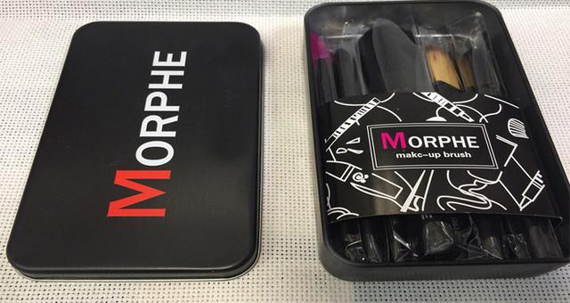 Набір пензликів для макіяжу Morphe 12в1