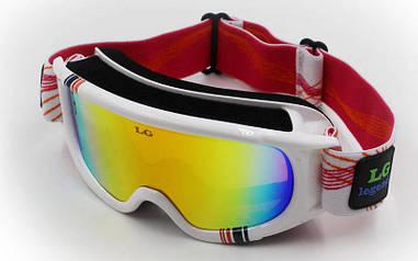 Маска горнолыжная Legend LG0060