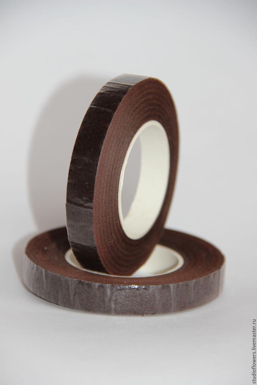 Тейп-лента для крепления сахарных цветов коричневая ,Галетте - 00437