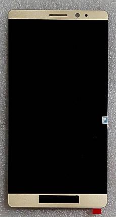 Модуль (сенсор + дисплей) для Huawei Mate 8(NXT-L29A/NXT-L09) золотий, фото 2