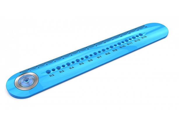 """Линейка пластиковая 15см """"Y Plus"""" с функцией циркуля RX130600, фото 2"""