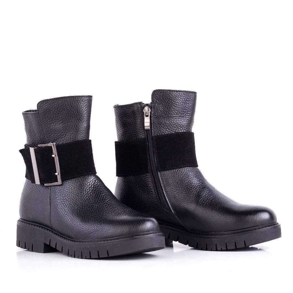 341420ac03b5 Зимние ботинки женские натуральная кожа черный 36-41 размеры , артикул  132642 - Sandalini в