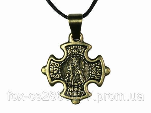 Нательный крест Ирина
