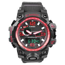 Часы наручные C-SHOCK GWG-1000A Black-Red, BOX