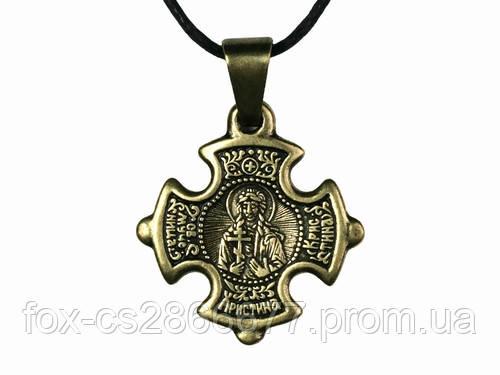 Нательный крест Кристина