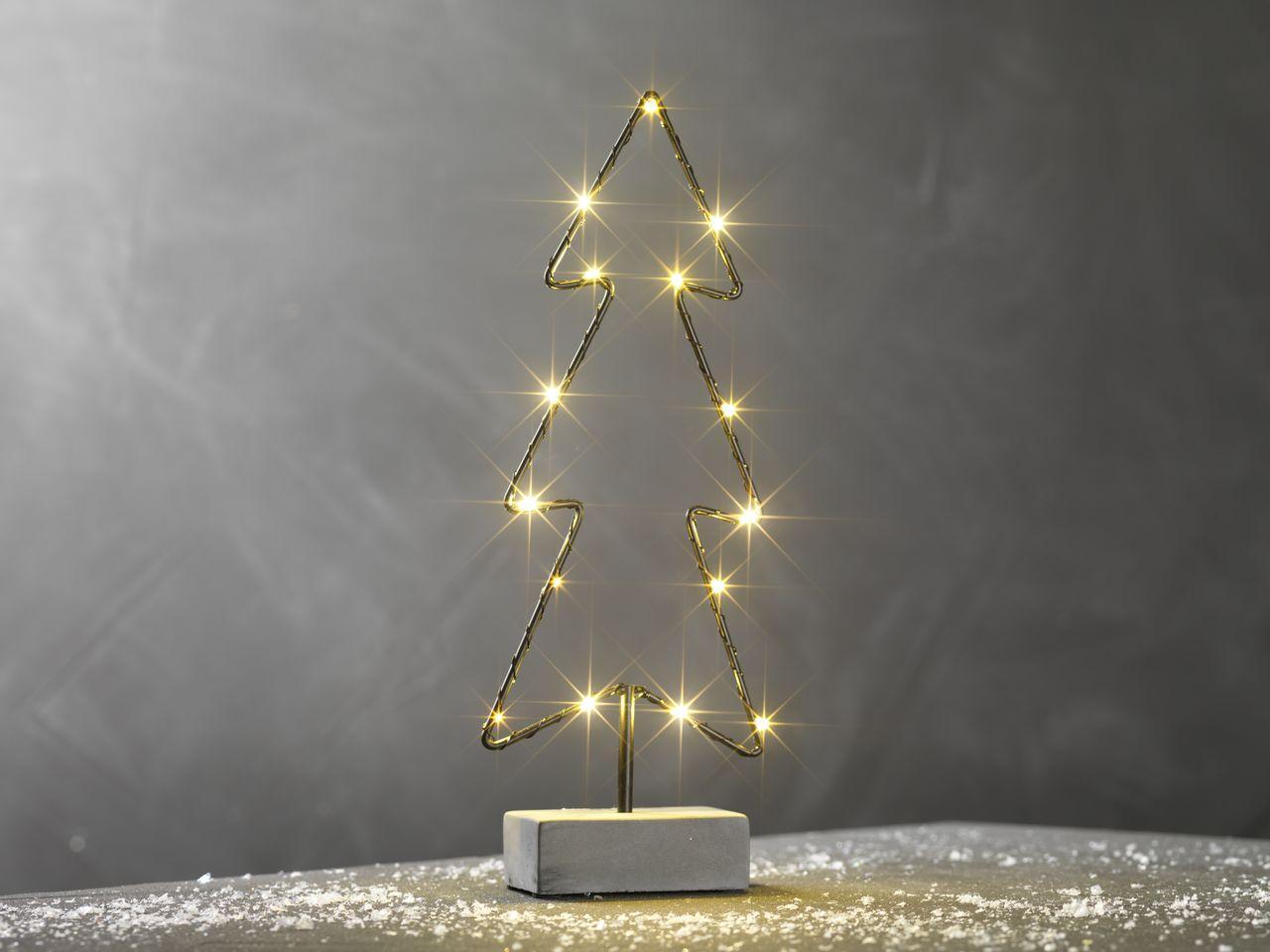 Светильник елка 15 LED 33 см