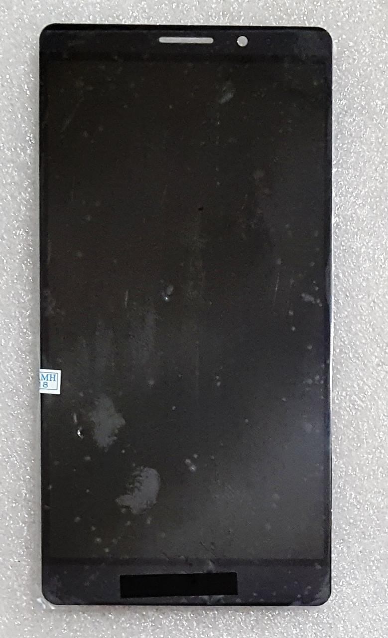 Модуль (сенсор + дисплей) для Huawei Mate 8(NXT-L29A/NXT-L09) сірий