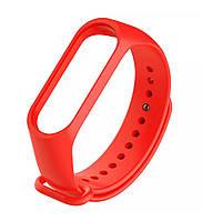 Ремешок для фитнес браслета, трекера Xiaomi Mi Band 3 (красный) для девушек