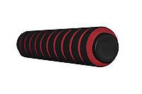 Ручки мягкие неопреновые для тренажёров домашних Красные
