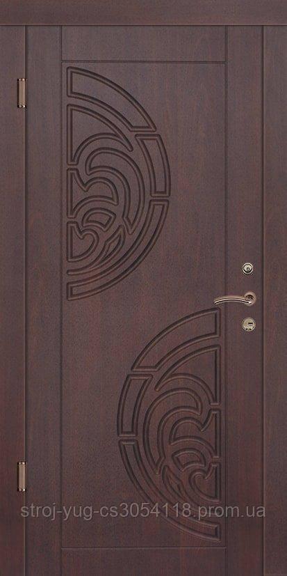 Дверь входная металлическая «Люкс», модель Прибой, 850*2040*70