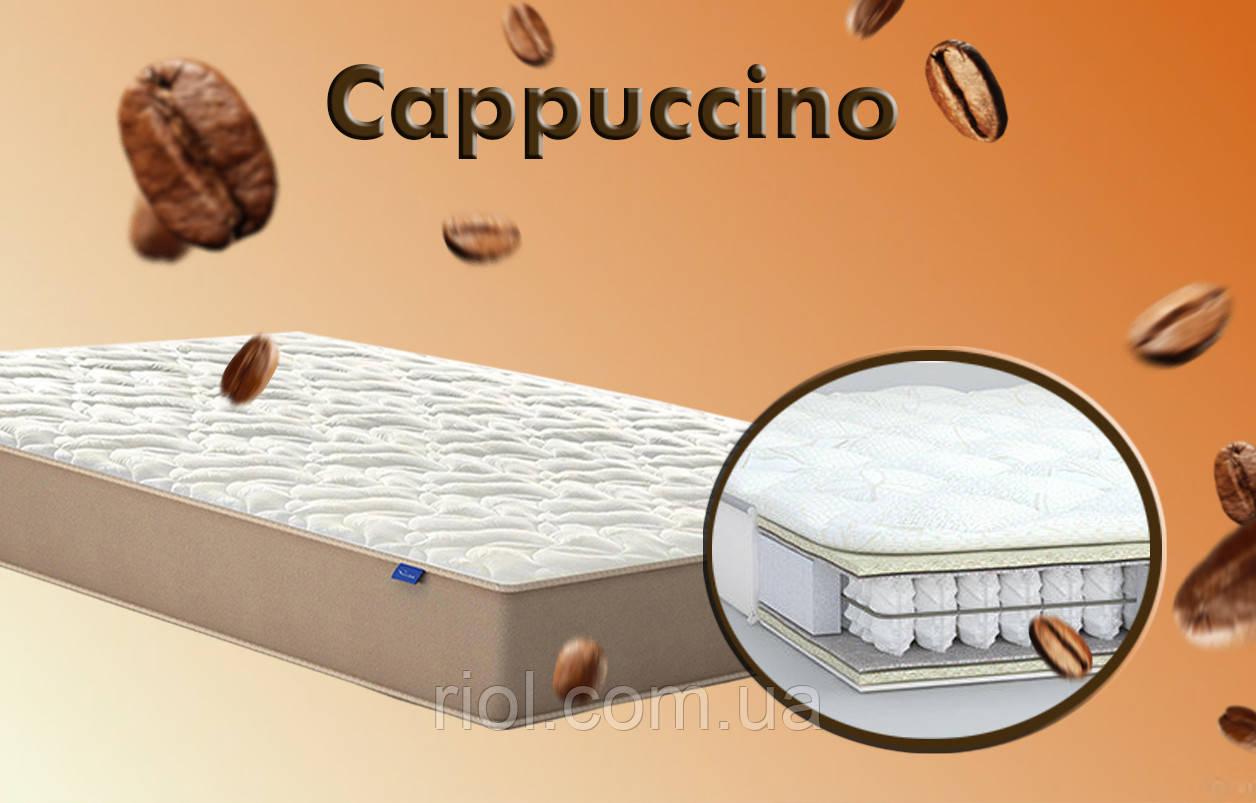 Матрас с блоком независимых пружин от MatroLuxe Cappuccino / Капучино