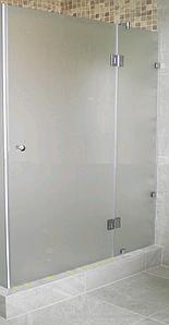 Душові двері матові Just  110см