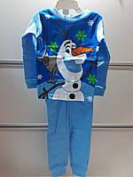 Пижама Детская DISNEY Трикотажная На Мальчика Зимняя Тема
