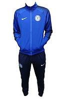 Детский футбольный костюм Челси (тренировочный), сезон 2018-2019