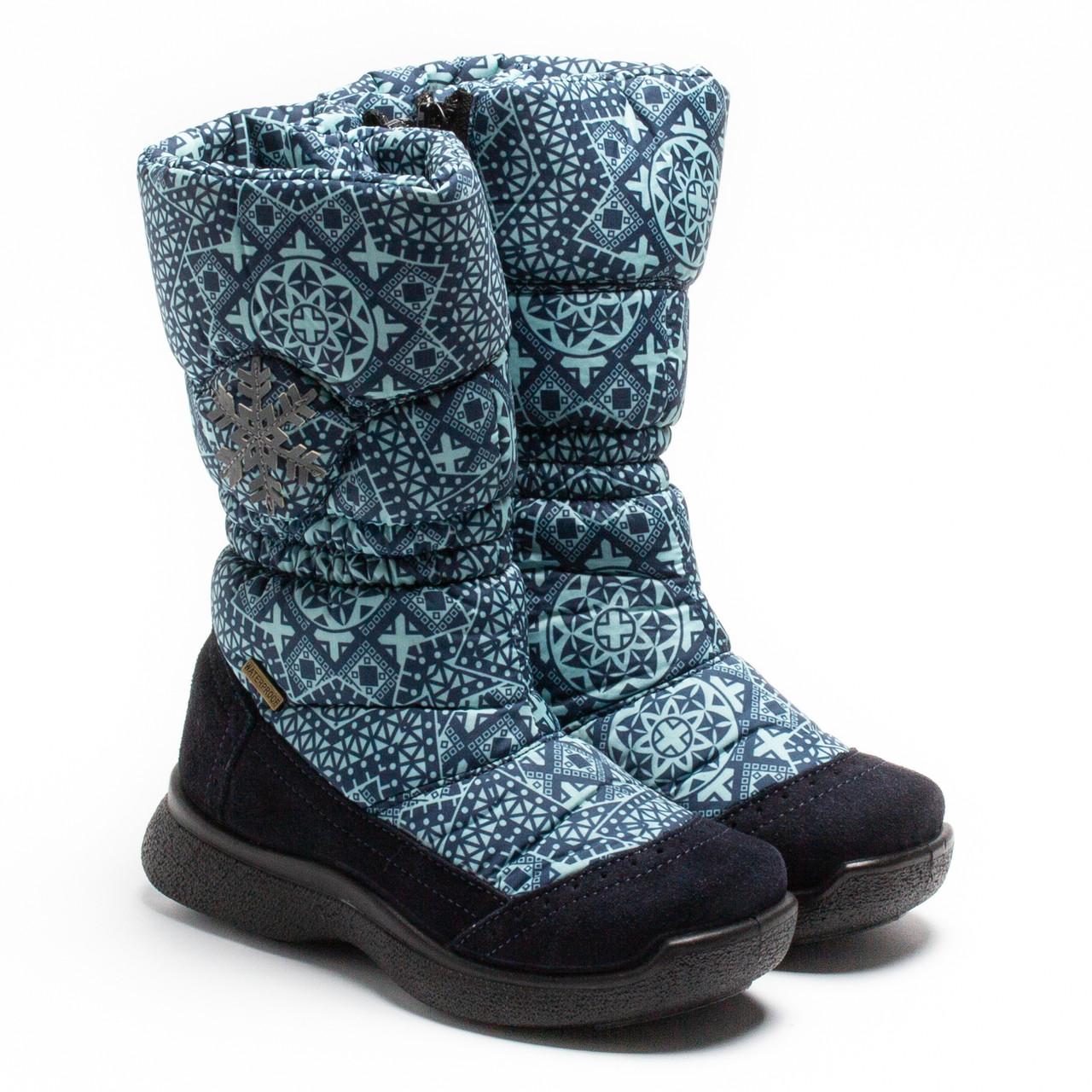 Зимние сапожки Тигина, для девочки, на молнии, размер 28-35