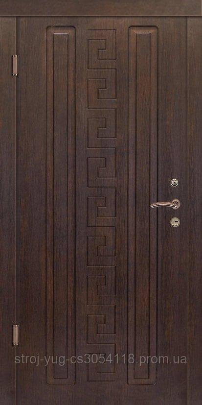 Дверь входная металлическая «Люкс», модель Спарта, 850*2040*70