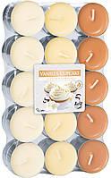 Свечи в гильзе Ванильное печенье Bispol, 30 штук