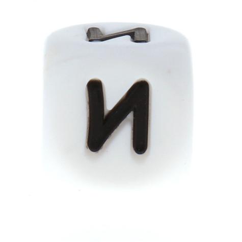 Буква - И (силиконовые бусины)