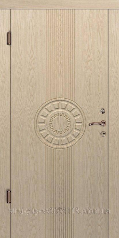 Дверь входная металлическая «Люкс», модель Толедо, 850*2040*70