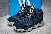 Зимние ботинки на меху Adidas Primaloft, темно-синий (30303),  [  42 (последняя пара)  ]