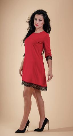 """Платье """"Кокетка"""" молодежное размеры 44, фото 2"""
