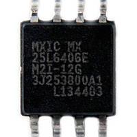 Микросхема Macronix MX25L6406EM2I-12G