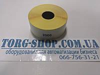 Термоэтикетка Эко 30х20 (2000 шт. в рулоне) втулка 25мм, фото 1