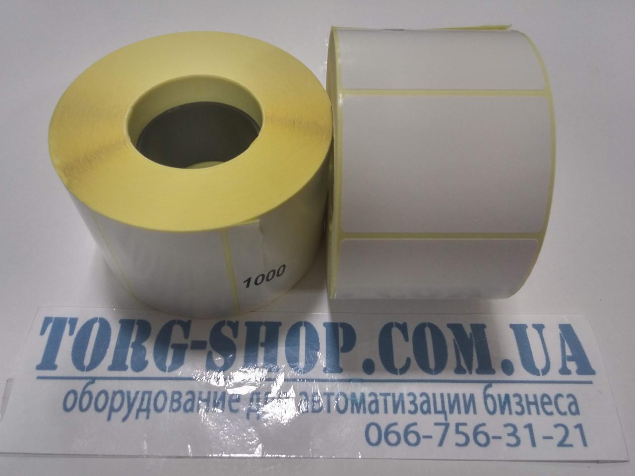 Термоэтикетка Эко 58х40 (1000 шт. в рулоне) втулка 41мм