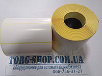 Термоэтикетка Эко 100х40 (1000 шт. в рулоне) втулка 41мм, фото 1
