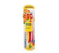 Dontodent Zahnburste Kids- две зубные щётки детские 1-7 лет