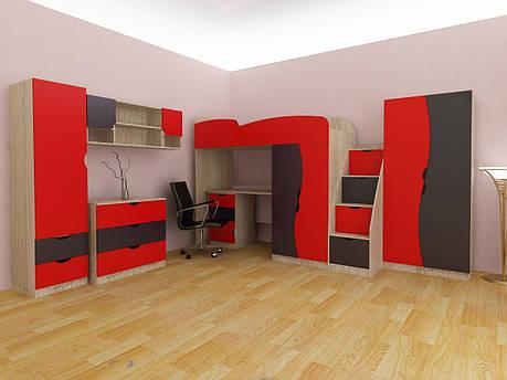 Комплект детской комнаты Тинейджер Viorina-Deko, фото 2