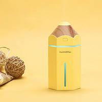 Мини увлажнитель воздуха Pencil humidifier Yellow