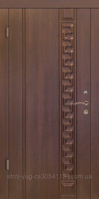 Дверь входная металлическая «Люкс», модель Цезарь, 850*2040*70