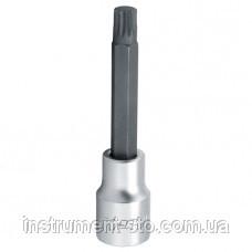 """Головка с насадкой SPLINE M8  L100mm 1/2"""" BCJA1608 (Toptul, Тайвань)"""