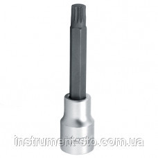 """Головка с насадкой SPLINE M10  L100mm 1/2"""" BCJA1610 (Toptul, Тайвань)"""