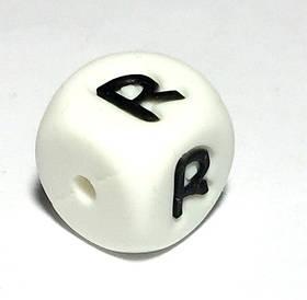 Буква - R (силиконовые бусины)
