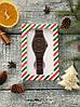 Шоколадные часы для стильного мужчины